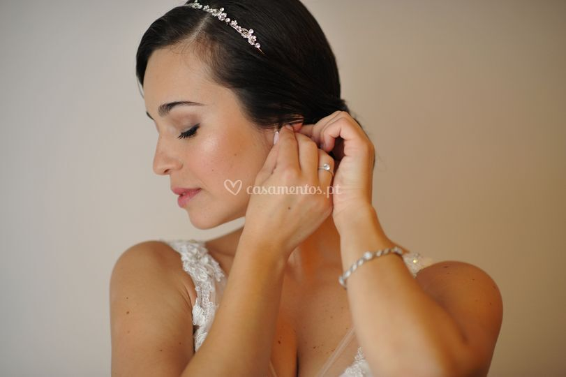 Maquilhagem para noiva