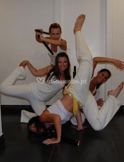 Capoeira/danças brasileiras