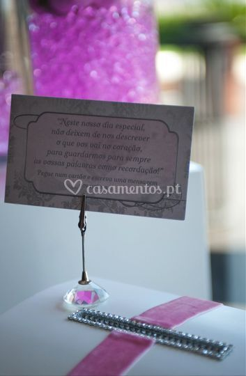 Convites e lembranças