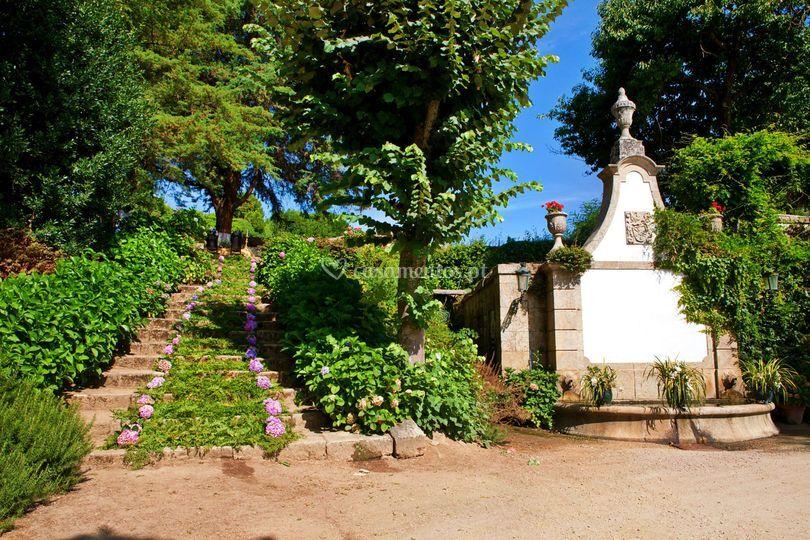 Escada capela