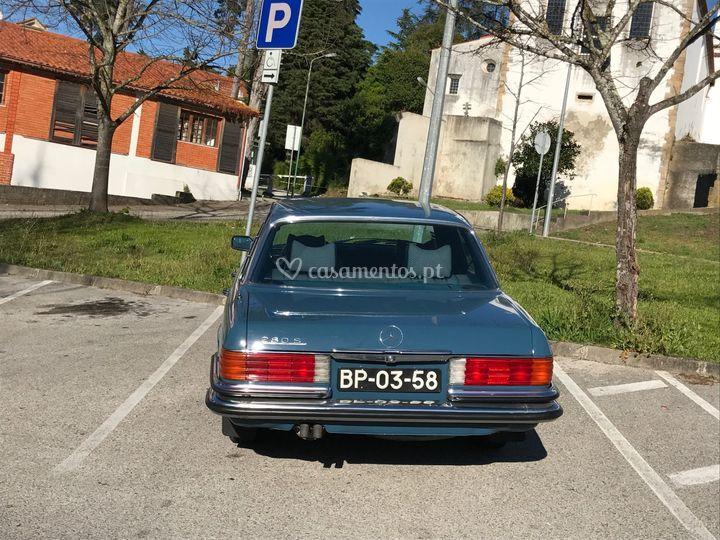 Mercedes w 116 1977