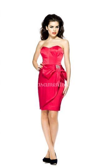 Vestido chique e glamoroso