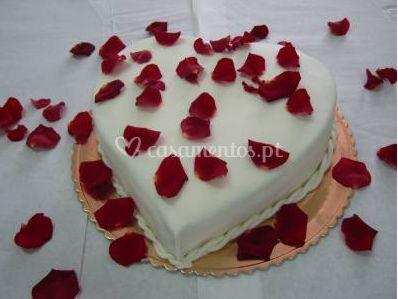 Rosas e corações, a melhor combinação