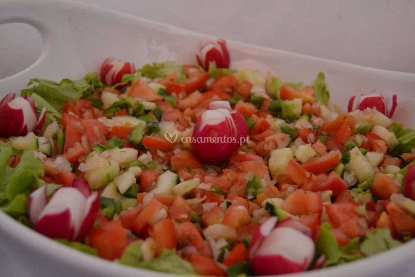 Salada à monte do guedelha