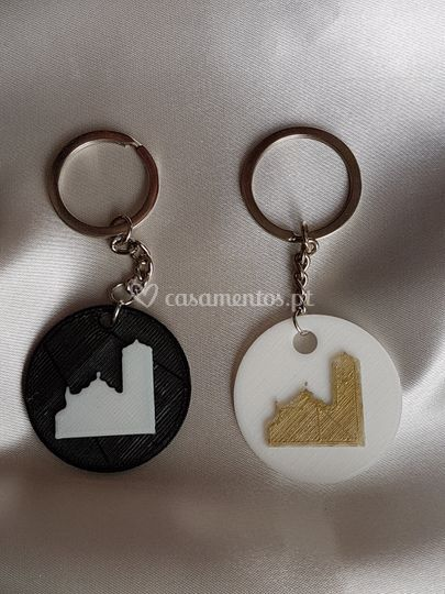 Brindes porta-chaves