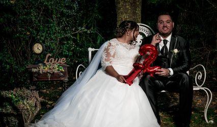 O casamento de Andreia e Fábio