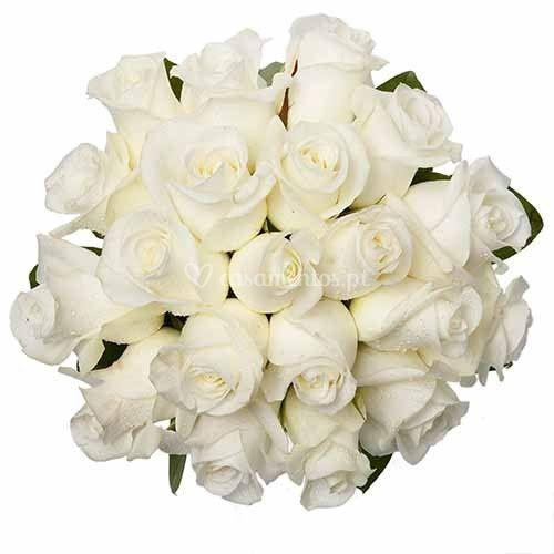 Bouquet Noiva - Rosas