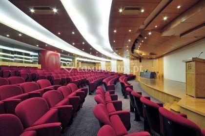Sala para eventos profissionais