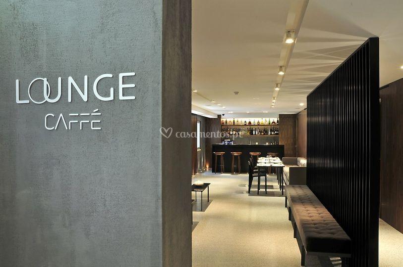 Entrada do lounge café
