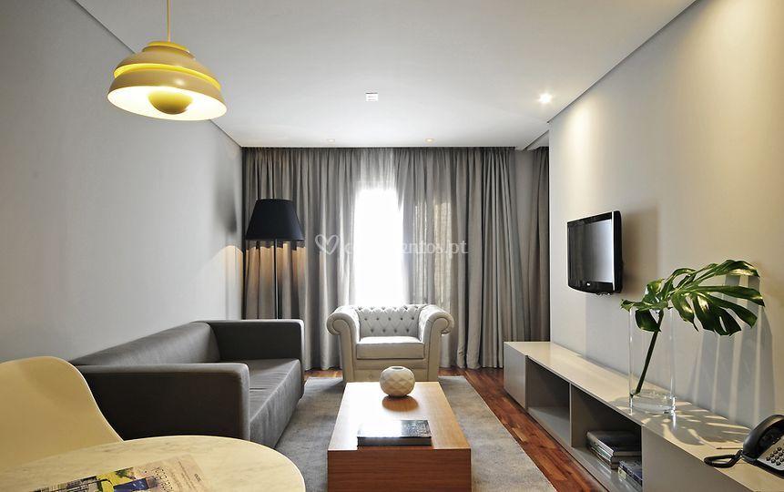 Sala de um apartamento