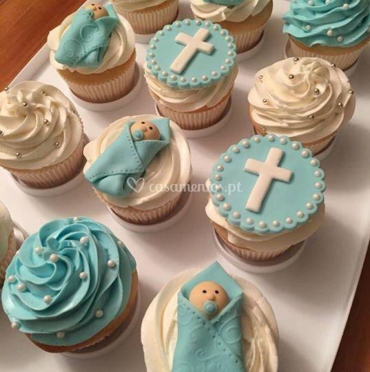 Cupcakes batizado
