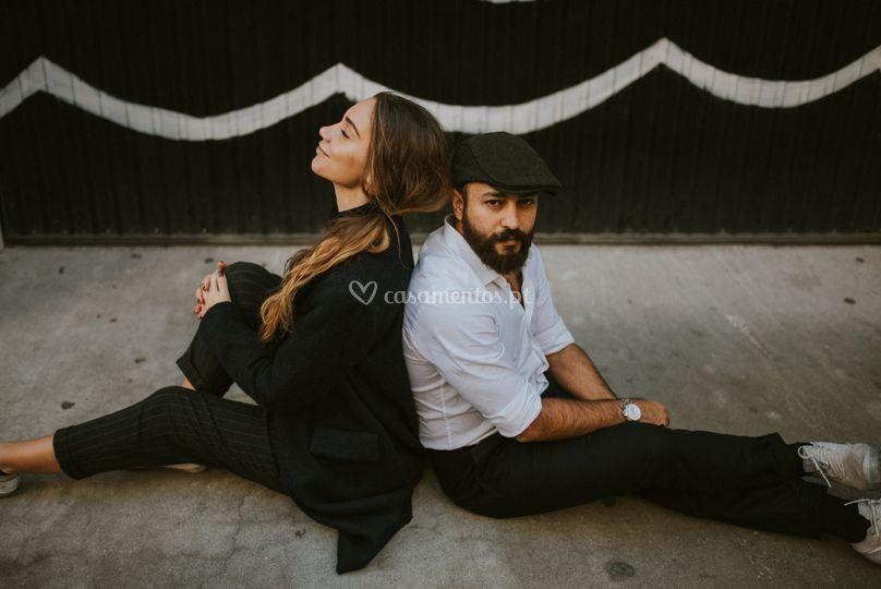 Lisa & Aziz