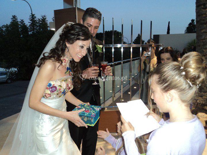 Desejos para os noivos