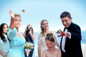 Casamento com borboletas