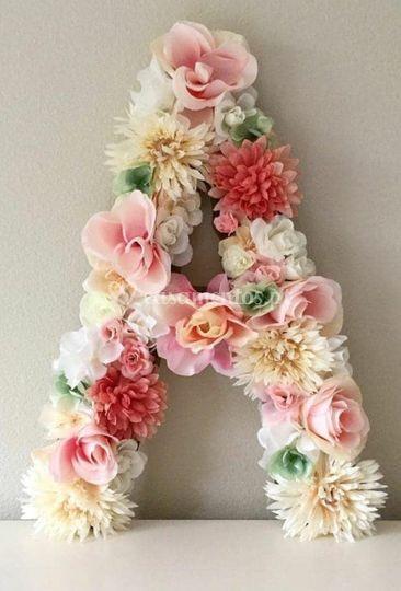 Letras Florais