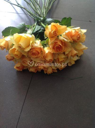 Ramos com rosas