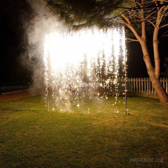 Cascata de fogo