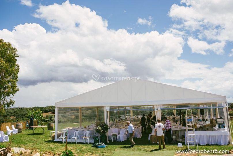 Lusotendas - Aluguer de tendas para eventos