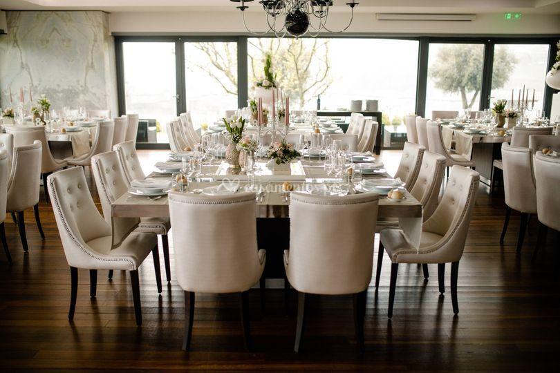 Palacete - cadeiras, mesa