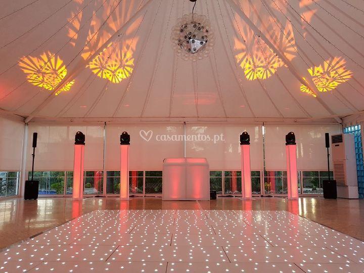 Dance floor / lighting