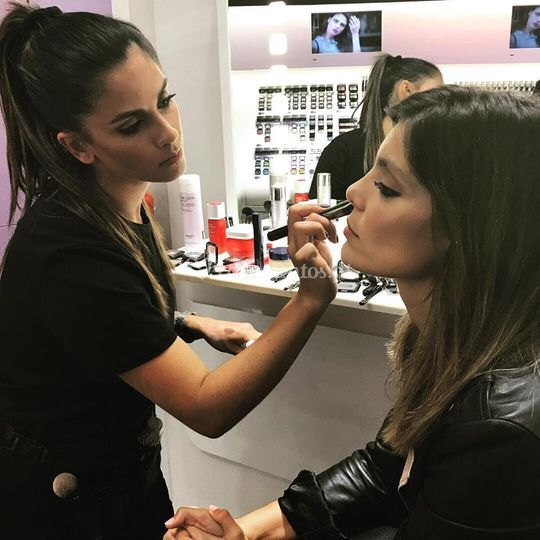 A maquilhar Andreia Rodrigues
