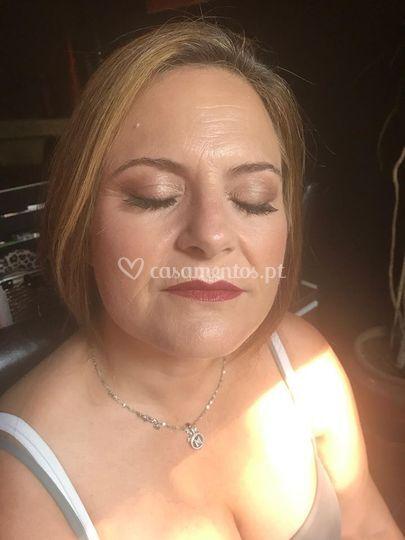 Guest's makeup