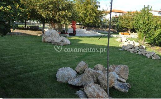 Jardins do hotel