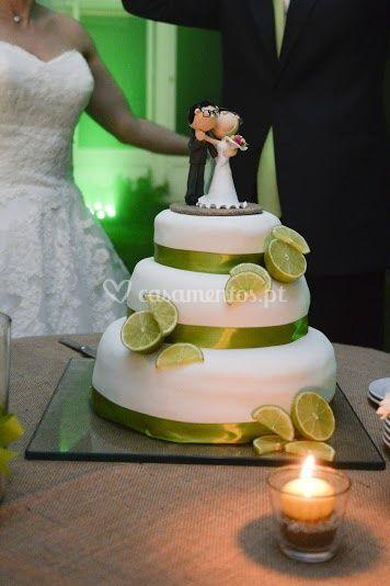 Bolo de noivos
