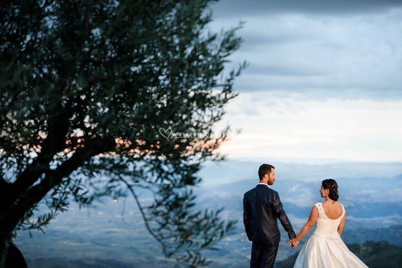 O noivo e a noiva
