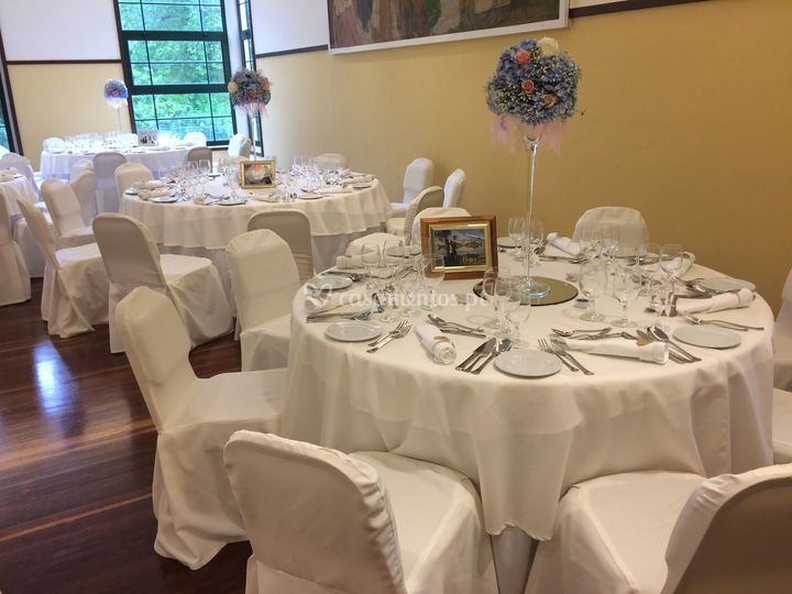 Mesas convidados