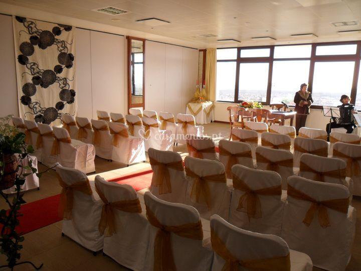 Sala para cerimónia civil