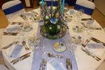 Decor��o branco/azul de TRYP Colina do Castelo Hotel