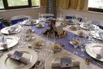 Decora��o azul de TRYP Colina do Castelo Hotel