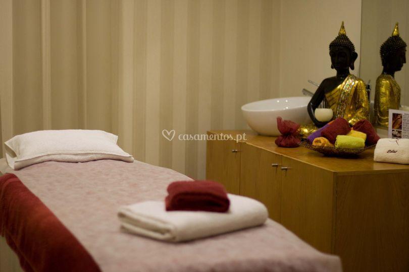 Gabinete de massagem