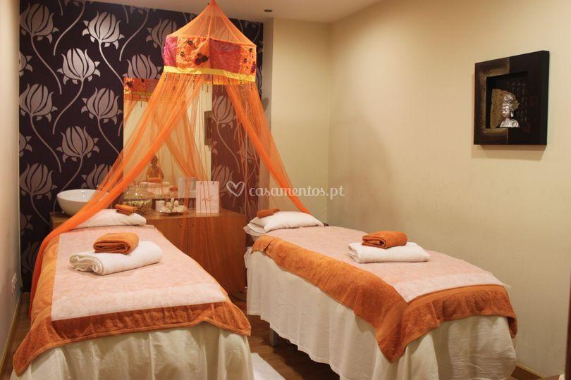 Gabinete massagem casal