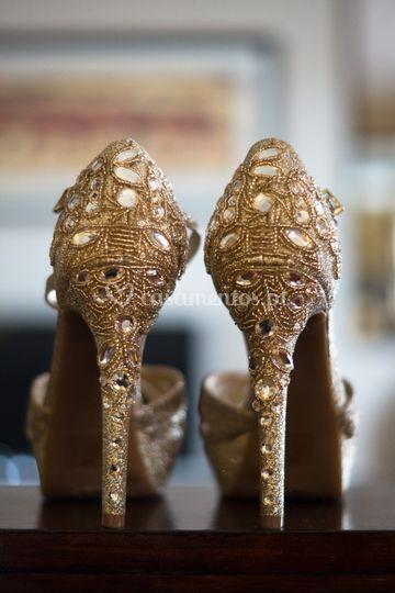 Fotos zapatos noiva