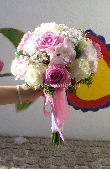 Ramo noiva rosa