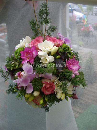 Bouquet em Bola