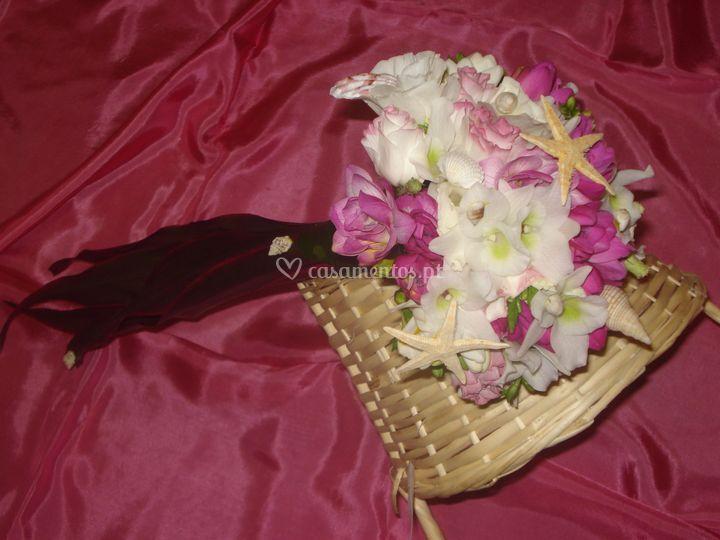 Bouquet Noiva Mar