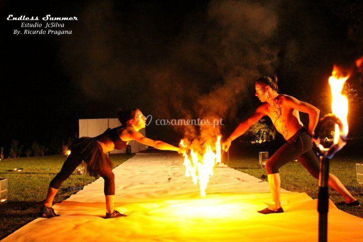 Espetáculos de fogo