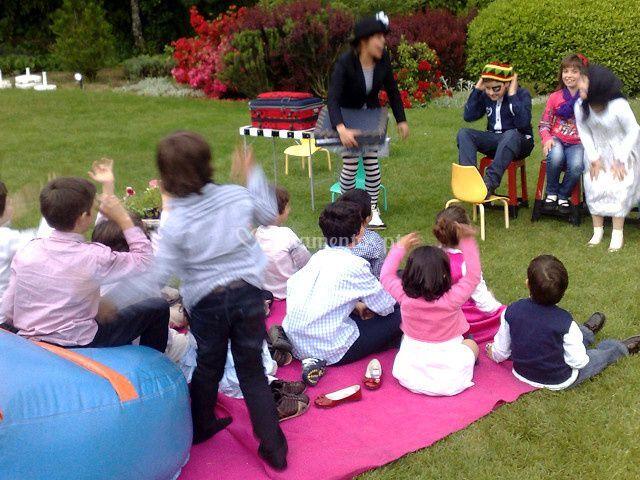 Espetáculos infantis