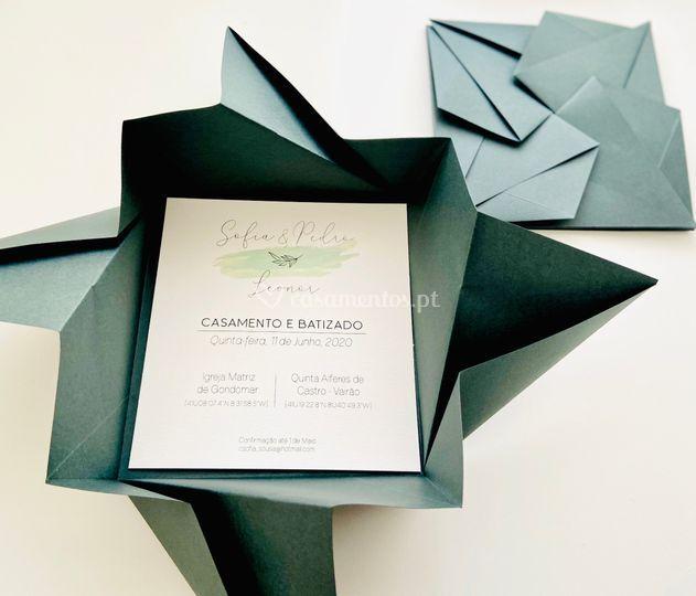 Origami Verde Pinho