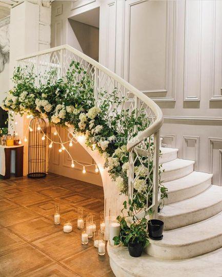 Escadas ornamentadas