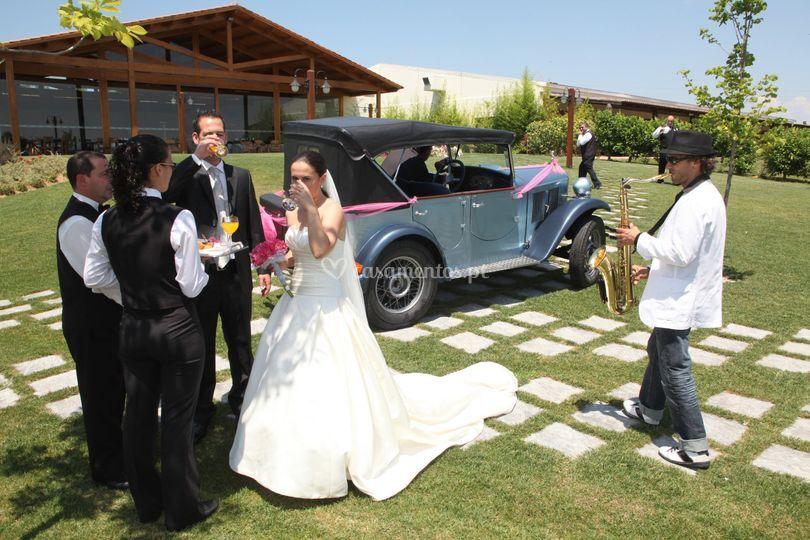 Receção dos noivos