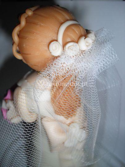 Boneca noiva personalizada