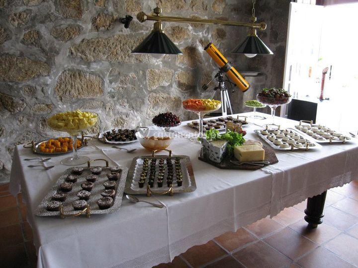 Mesa festa particular