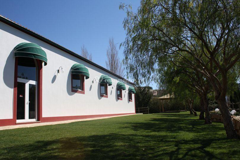 Jardim centro de eventos