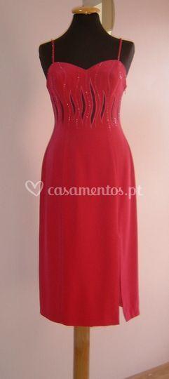 Vestido vermelho convidadas