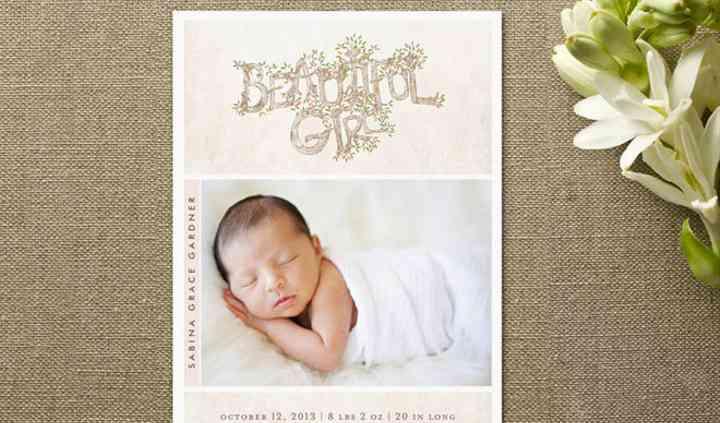 Anúncio de nascimento