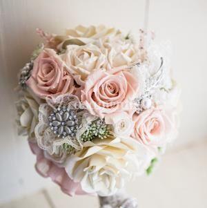 Bouquet tons claros